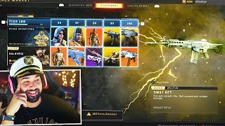 Buying Every TIER in Black Ops 4 ABSOLUTE ZERO DLC..