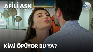 Kimi öpüyor bu ya? - Afili Aşk 10. Bölüm