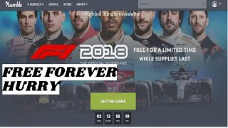 GET F1 2018 FOR FREE   HUMBLE BUNDLE FREEBIE   HOW TO CREATE ACCOUNT IN HUMBLE BUNDLE