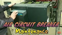 Electrical Engineering Air Circuit Breaker (ACB) Maintenance vedio, by Electrical Technician