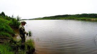 Ловля щуки летом по диким местам. Джерки Салмо. Республика Коми.