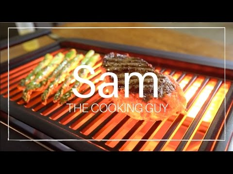 Convenient Smokeless Indoor Grilling - YouTube