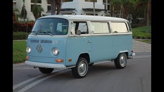 1972 Volkswagen Micro Bus Window Van  @ www.NationalMuscleCars.com National Muscle Cars