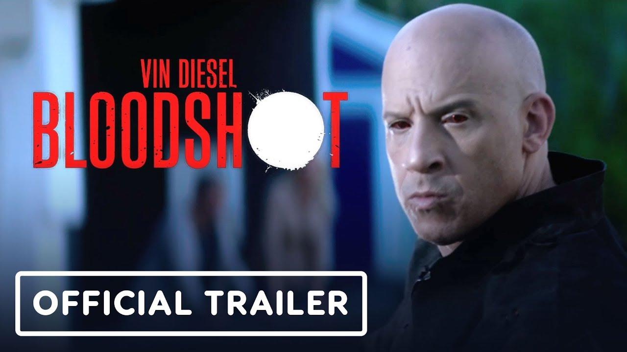 Bloodshot - Official Trailer (2020) Vin Diesel
