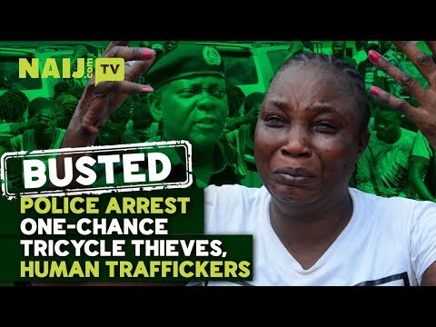 Nigeria News 2018: BUSTED Police Arrest One-Chance Tricycle Thieves, Human Traffickers | Legit TV Mp3