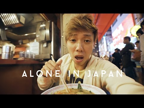 OSAKA THE FOOD HAVEN | Alone in Japan | EP 01
