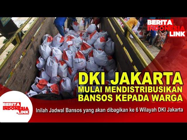 Pemprov DKI Jakarta sudah mendistribusikan Bansos
