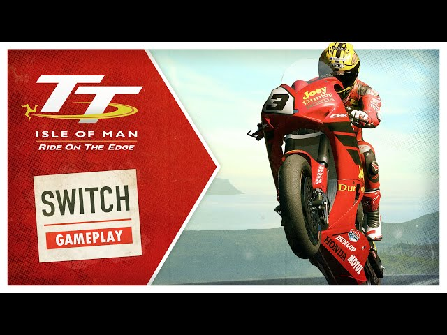 TT Isle of Man - Switch Gameplay