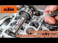 Регулировка зазоров клапанов на мотоцикле на примере KTM XCF 250 | SXF 250