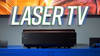 "The 100"" 4K Laser TV - Bigger is Better"