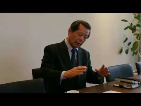 Highlight of interview with Mr. Yoichi Funabashi, founder of
