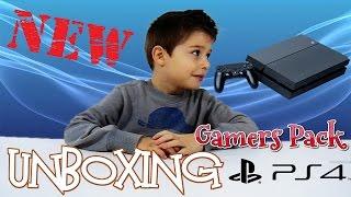 Ο Γιώργος Ανοίγει Το PS4 Unboxing Play Station 4 Gamers Pack (Greek) by Toys4Kids (NEW CHANNEL)