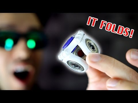 Thumbnail: Top 20 BEST FIDGET SPINNERS! *Folding Rare Spinner EDC Toys!*