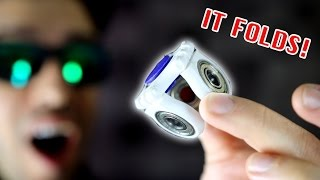 Top 20 BEST FIDGET SPINNERS! *Folding Rare Spinner EDC Toys!*