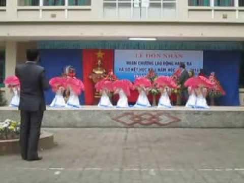 Múa Nét Việt 12A3 THPT Nam Lý