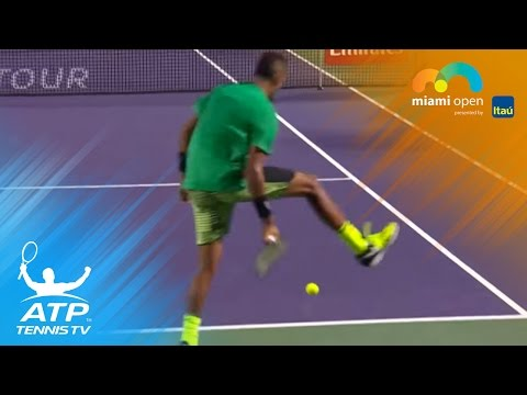 Best Hot Shots: Federer, Kyrgios, Thiem & more | Miami Open 2017