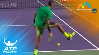 Best Hot Shots: Federer, Kyrgios, Thiem & more | Miami Open 2017