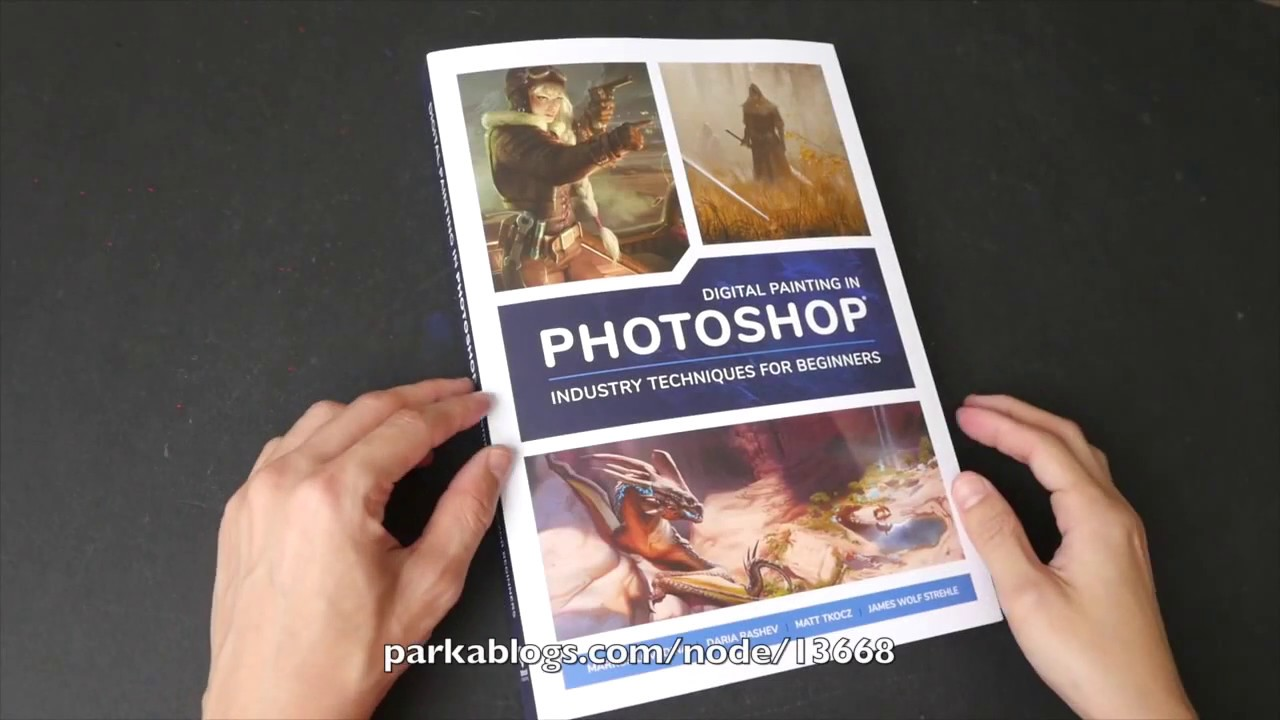 book flip) Digital Painting in Photoshop: Industry Techniques for ...