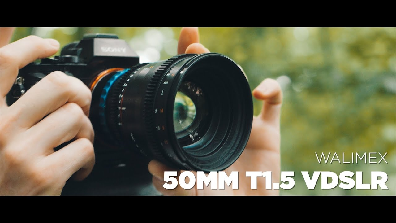 WALIMEX 50MM T1.5 REVIEW - YouTube