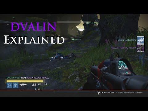 Destiny: DVALIN-RAS8711-FR002 Drop (Click on Video in Description for Sleeper Simulant Info)