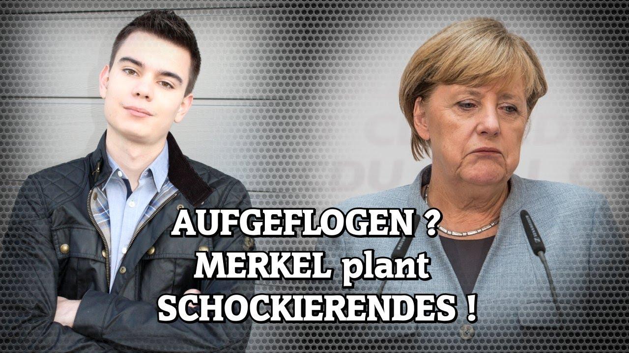 AUFGEFLOGEN? MERKEL plant SCHOCKIERENDES!