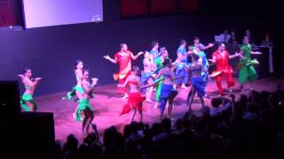 BOLLYWOOD STYLE SALSA AYTUNC BENTURK & ABDA DANCERS REFRESH RED CARPET PARTY GANGNAM STYLE.