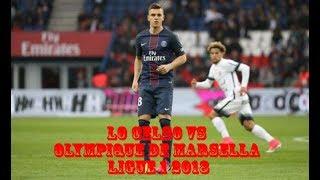 Giovani Lo Celso Vs Olympique de Marsella por Ligue 1 (TODAS LAS JUGADAS)