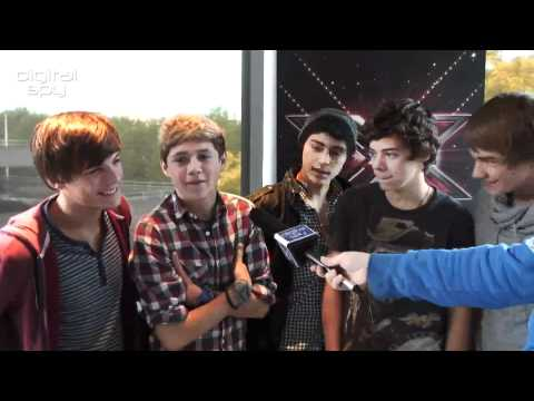 One Direction The X Factor 2010 Digital Spy Interview