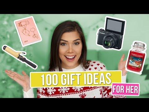 100 CHRISTMAS GIFT IDEAS FOR HER! - Girlfriend, Sister, Mom, Best Friend etc. | Katerina Williams