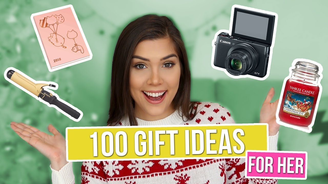 100 CHRISTMAS GIFT IDEAS FOR HER! - Girlfriend, Sister, Mom, Best ...