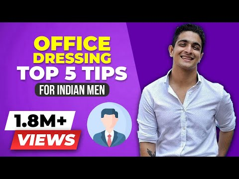 Sexiest Man At The Office - Top 5 Office Dressing Tips | BeerBiceps Men's Formal Clothing