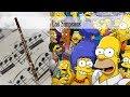 Partitura Los Simpsons Fagot