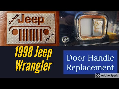 How to Replace Jeep Wrangler TJ Door Handles (TJ, YJ, CJ)