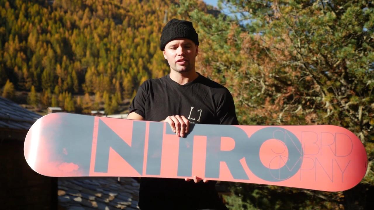 cffce5babb9 2018 Nitro Prime Snowboard Review - YouTube