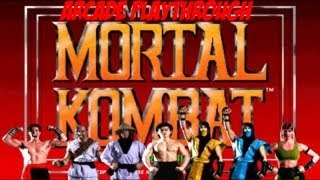 Mortal Kombat (Arcade) Playthrough