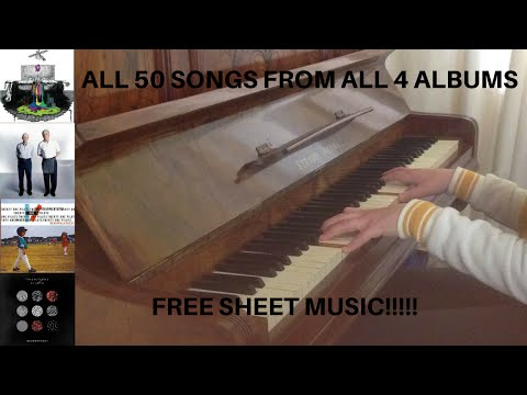 The Ultimate Twenty One Pilots Piano Medley  50 Songs from 4 Albums + Free Sheet Music