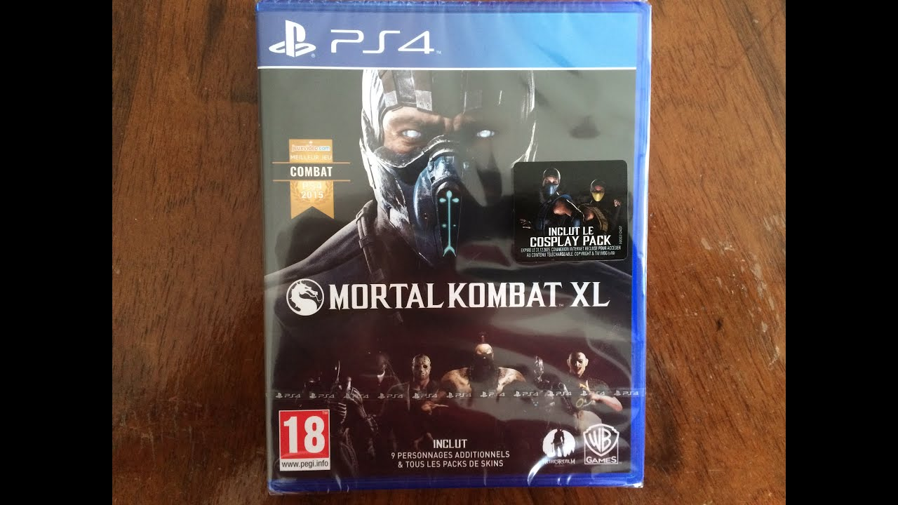 Mortal Kombat XL (Xbox One/ PS4 ) Unboxing!! - YouTube