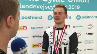 Niklas Larsen efter bronze ved DM i Esbjerg 2019