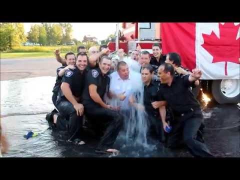 Clarence-Rockland FD - ALS Ice Bucket Challenge