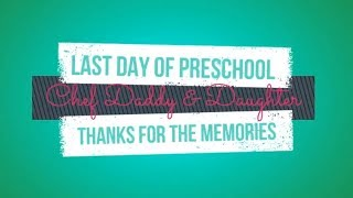 Olivia had her last day of preschool! She had a blast this year and...
