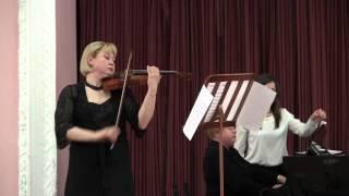 А. д'Амбросио Романс для скрипки (Oп.9) /A. d'Ambrosio Romance for violin and piano (Op.9)