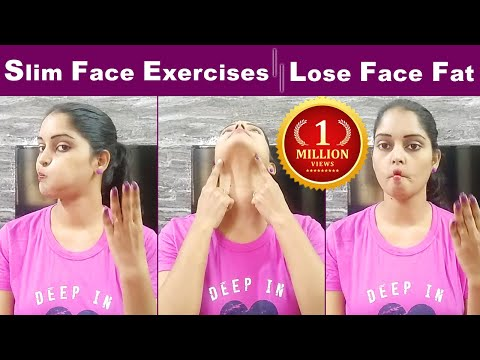How to Lose Face FAT In Telugu||Get Slim Face In 1 Week||Face Fat Exercises In Telugu||FACE FAT TIPS