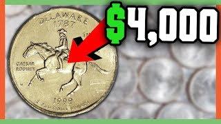 RARE STATE QUARTERS WORTH MONEY - RARE QUARTERS TO LOOK FOR!!