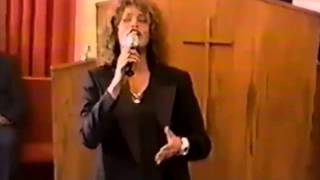 Whitney Houston - 'God Will Take Care of You' (RARE FOOTAGE)