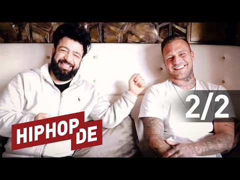 "Kontra K: Fanfragen, ""sein"" Tiger Elsa, Bonez MC, Azad, Tattoos, Fitness uvm. (Interview) #waslos"