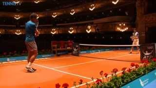 Nadal & Ferrer Hit At The Gran Teatre Del Liceu In Barcelona