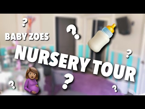 NURSERY TOUR | BEFORE AND AFTER thumbnail