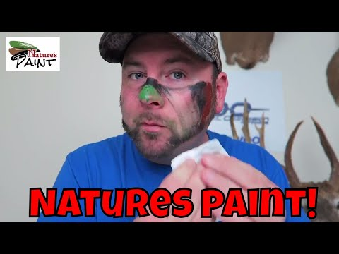 Best Camo Face Paint For Hunting NATURES PAINT