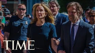 Felicity Huffman Gets 14 Days In Prison For Her Role In College Admissions Cheating Scandal   TIME