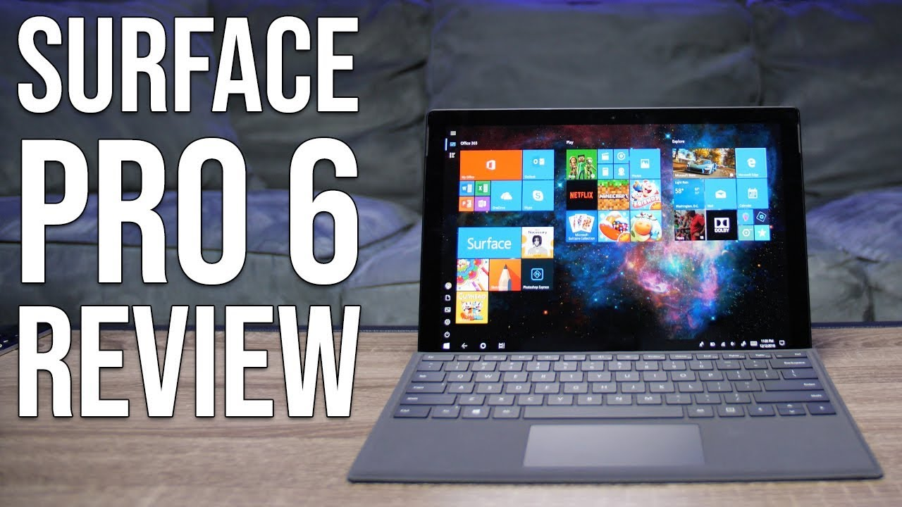 Microsoft Surface Pro 6 Review: Still the best 2-in-1 tablet